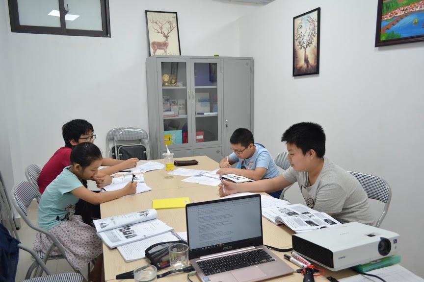 Nhiều phụ huynh cho con học tiếng Đức từ sớm để chuẩn bị cho việc du học đại học Đức.