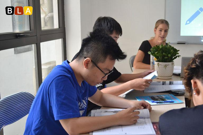 Giáo viên dạy tiếng Đức tại BLA.