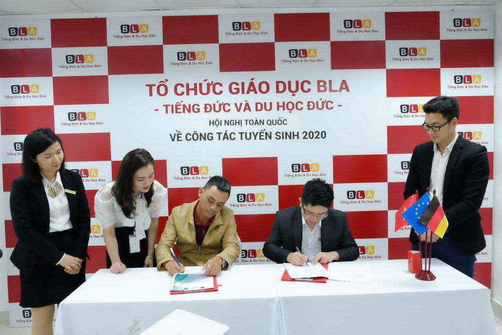 BLA ký hợp đồng tuyển sinh 2020 với các đối tác trên toàn quốc