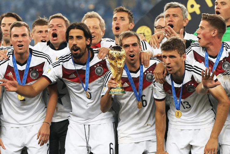 Nước Đức nổi tiếng bởi bóng đá