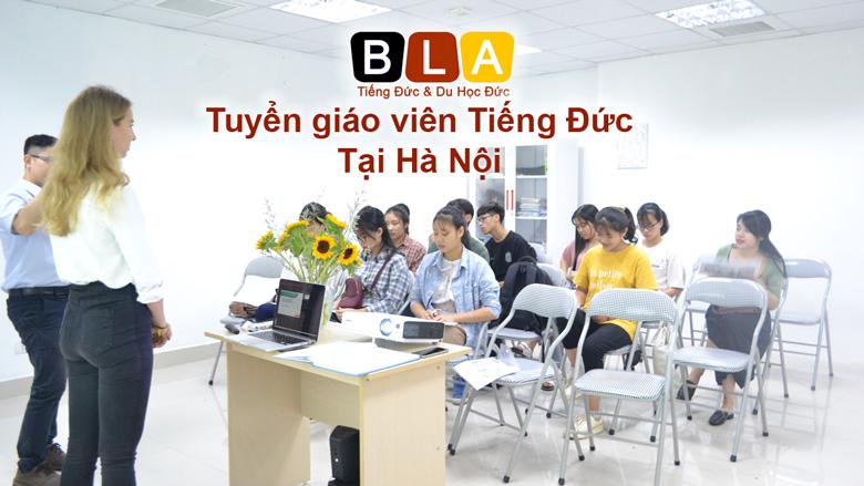 Tuyển giáo viên tiếng Đức tại Hà Nội