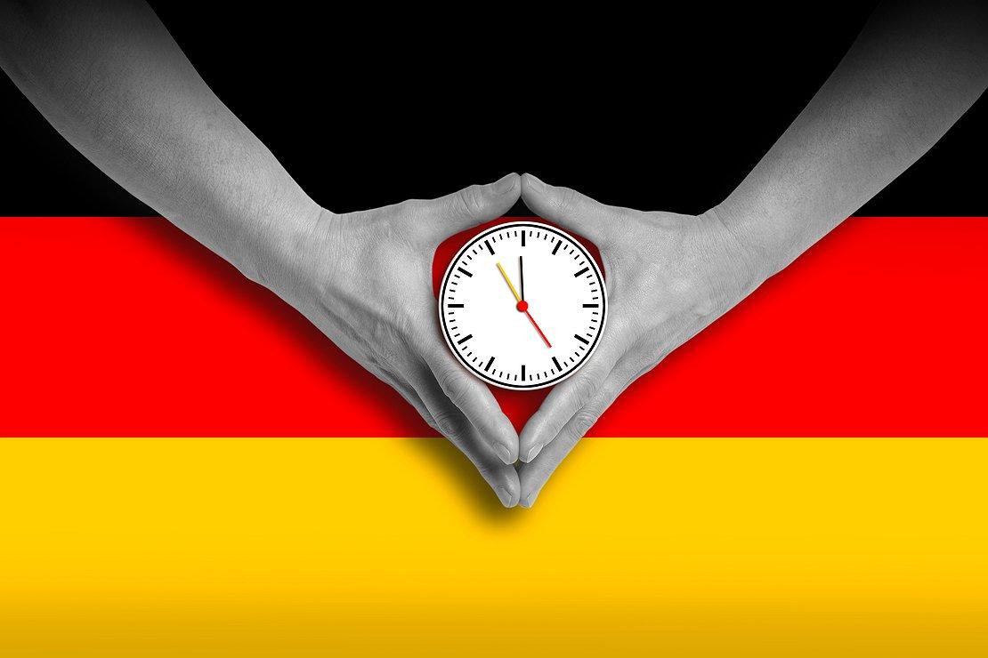 Đúng giờ là tác phong làm việc của người Đức