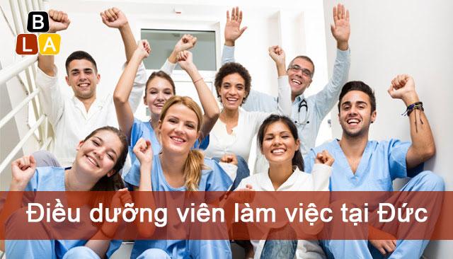 Điều dưỡng viên làm việc tại Đức