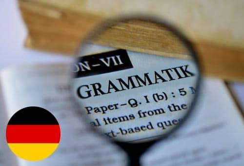 Ngữ pháp là một phần quan trọng của mỗi ngôn ngữ, tiếng Đức cũng vậy